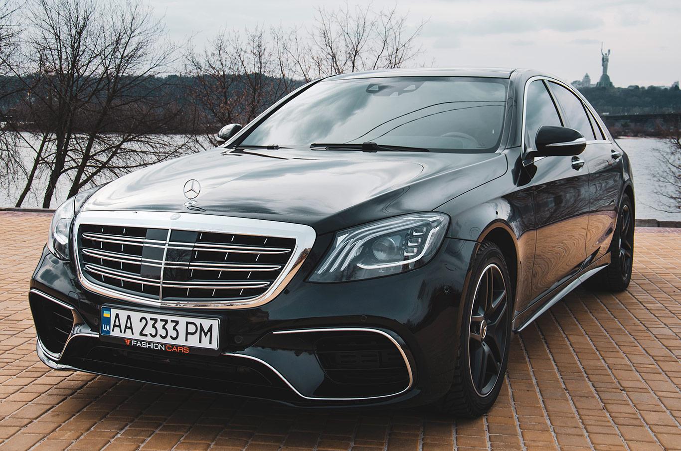 cabriolet, sports car rental in Kiev Mercedes S500L (2)