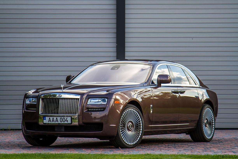 cabriolet, sports car rental in Kiev Rolls Royce Ghost (1)