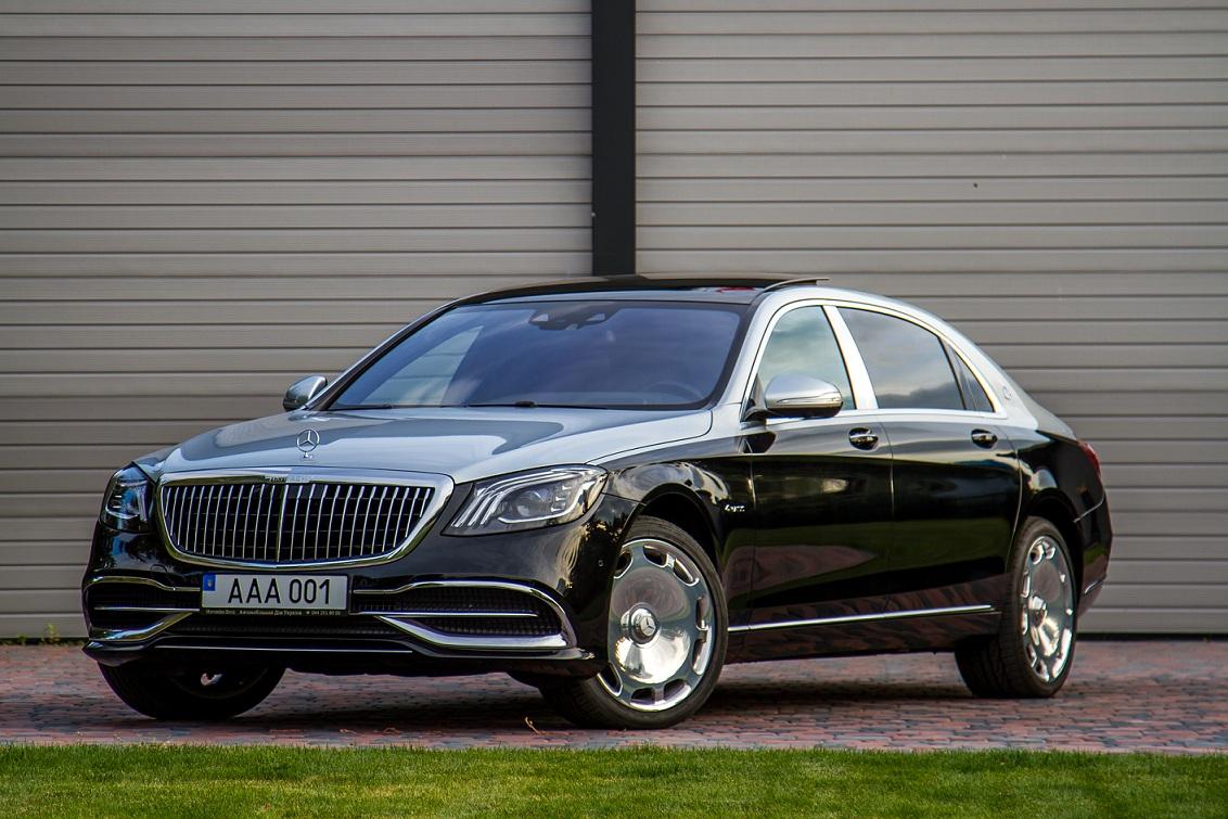 cabriolet, sports car rental in Kiev Mercedes Maybach