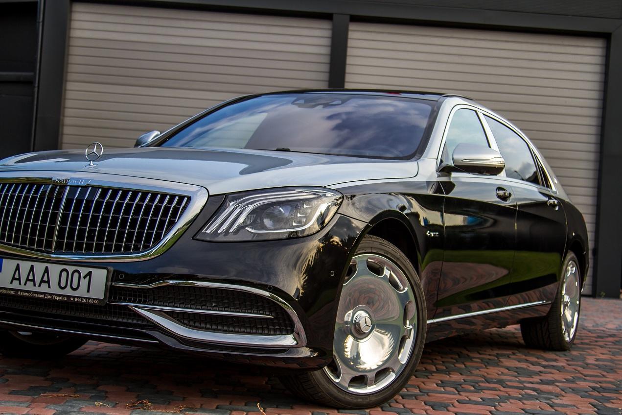 cabriolet, sports car rental in Kiev Mercedes Maybach (2)