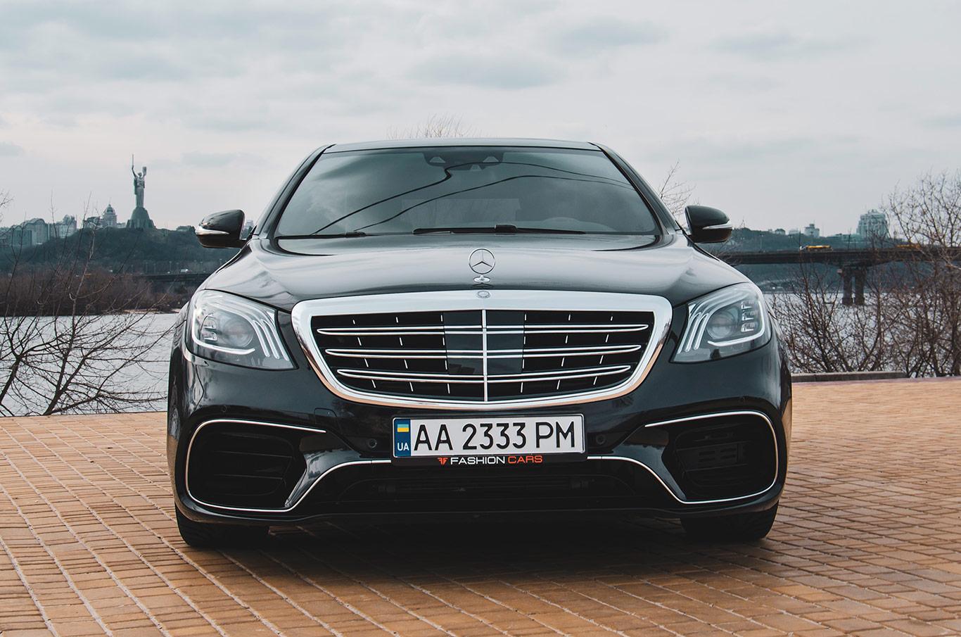 cabriolet, sports car rental in Kiev Mercedes S500L (3)