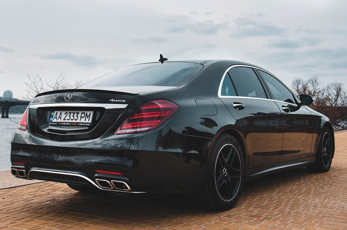 cabriolet, sports car rental in Kiev Mercedes S500L (4)