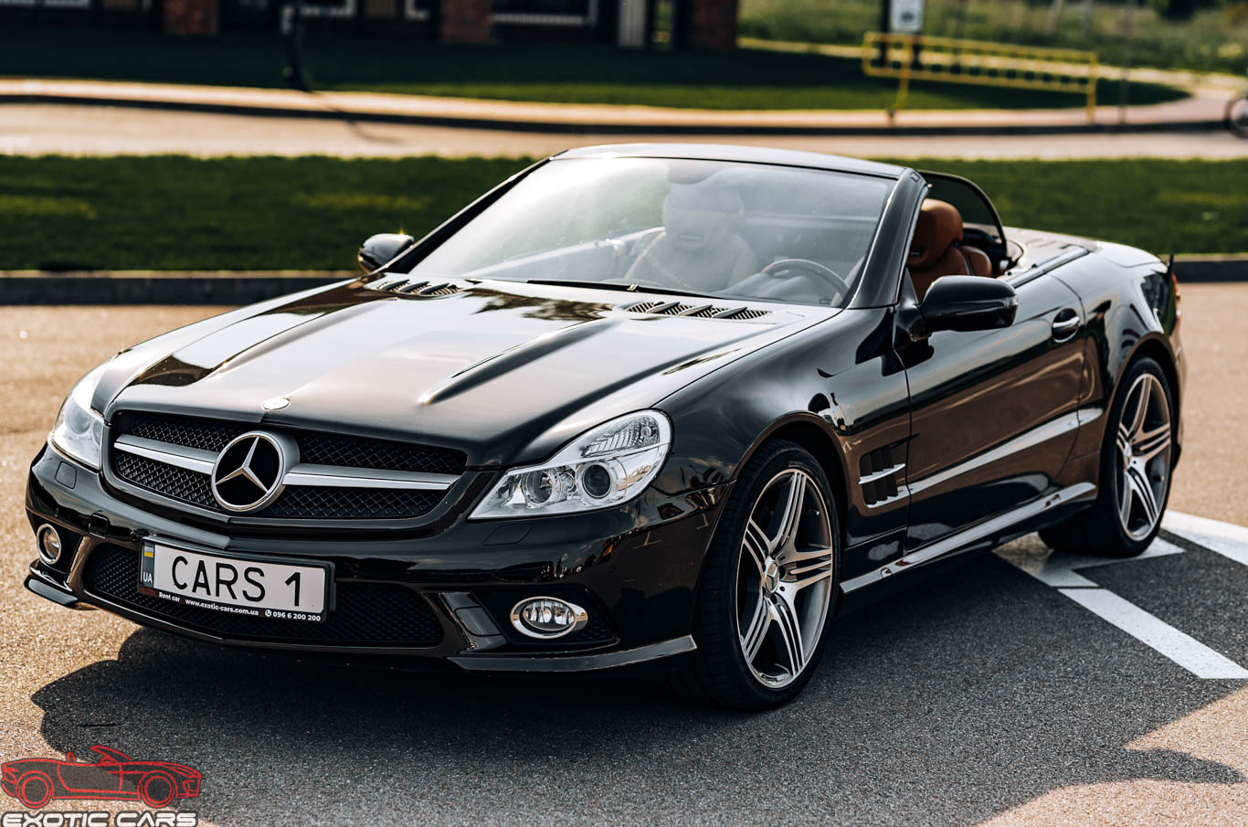 cabriolet, sports car rental in Kiev Mercedes SL500