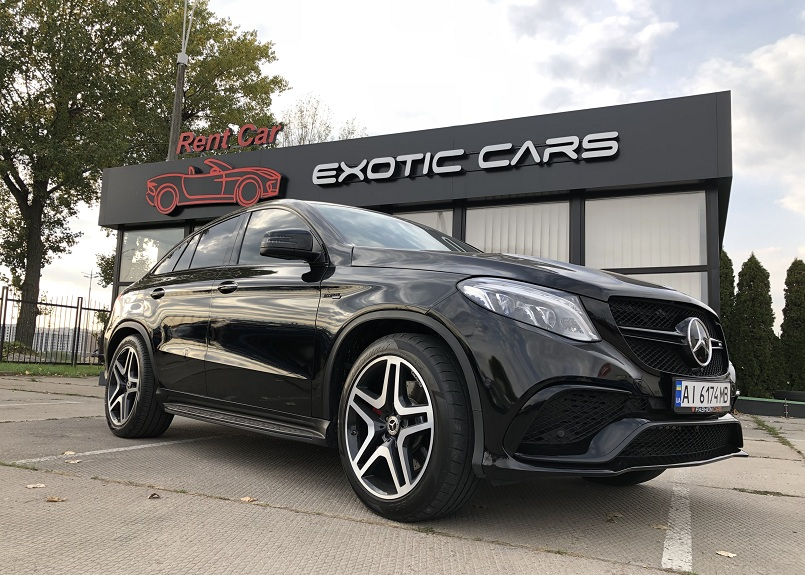 Rent SUV Mercedes GLE43AMG COUPE (3)