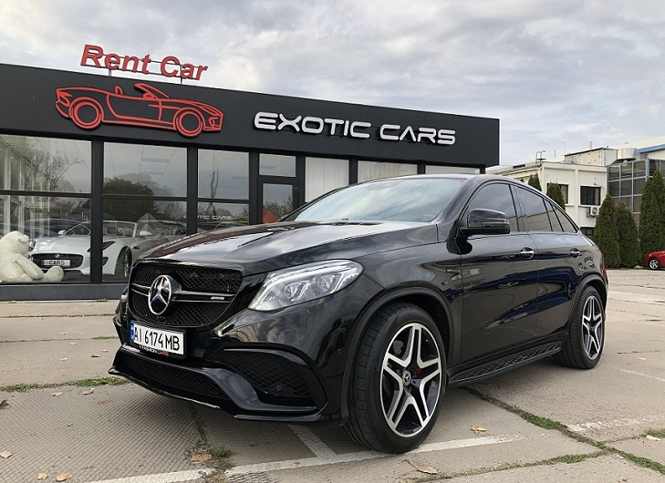 Rent SUV Mercedes GLE43AMG COUPE