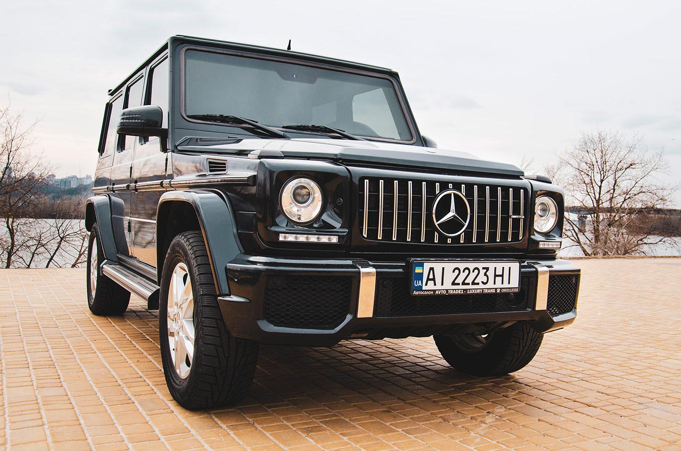 прокат в Киеве Mercedes G