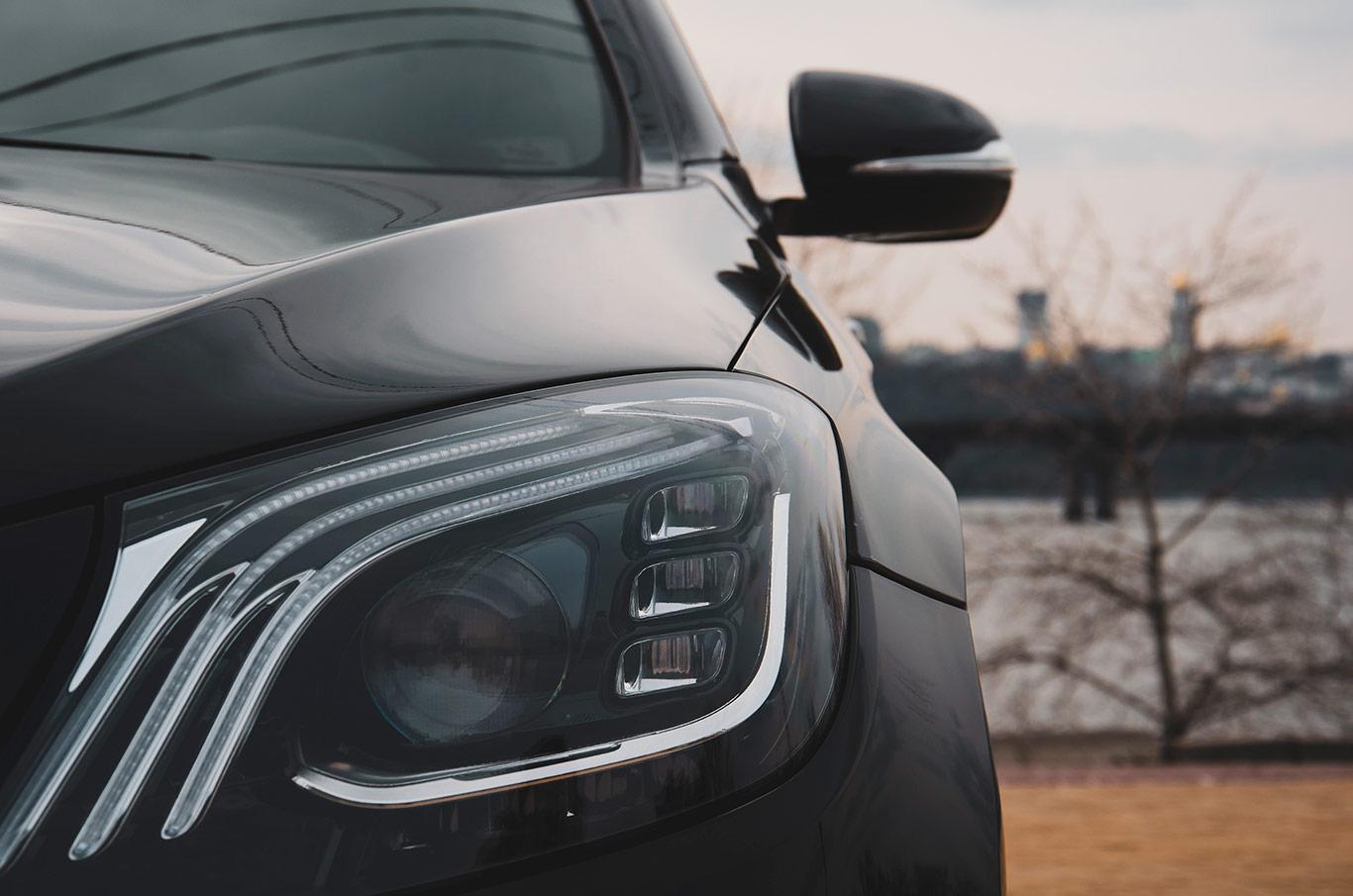 аренда Mercedes S-Class S550