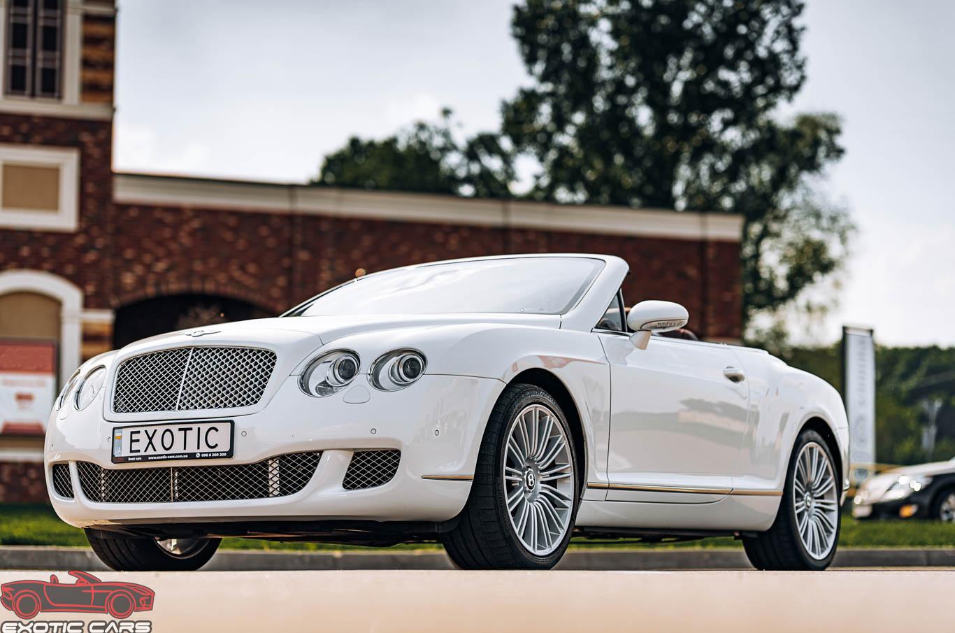 Аренда кабриолета Bentley