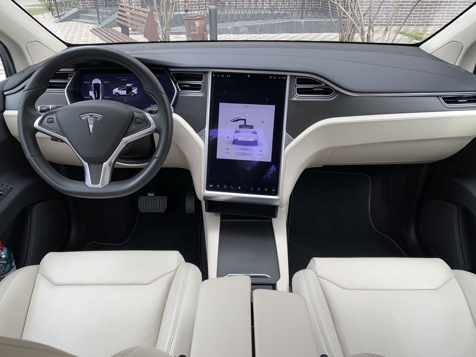 Tesla Model X 100D rental in Kyiv - Rent convertible in Kiev, rent spo